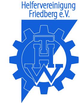 Logo der Helfervereinigung des THW Friedberg e.V.